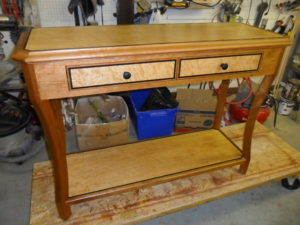 Custom Console Table, Custom Accent Table