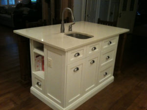 Custom Kitchens, Custom Kitchen Island