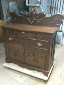 Custom Dresser, Custom Woodworking